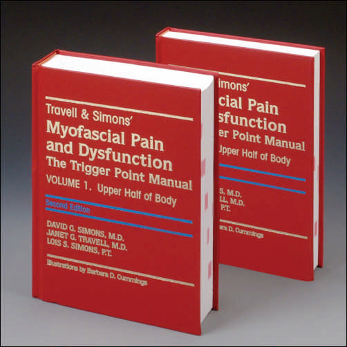 "En 1983, la dresse Janet Travell, en collaboration avec le Dr David G. Simons, MD, publia l'ouvrage de référence ""Myofascial Pain and Dysfunction - The Trigger Point Manual"". Ce livre bouleversa la médecine de l'appareil locomoteur."