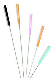 The needles used in Dry Needling are sterile disposable needles, that are usually 0.16mm – 0.3mm thick and 1.5 cm – 6 cm long in size. The choice of needle depends on the depth of the trigger point within the tissue, and on the dry needling technique that is used.
